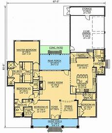 single story house plans with bonus room plan 56399sm 4 bed acadian house plan with bonus room