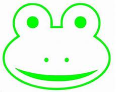 ribbit a frog outline vinyl decal by