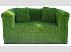 Artificial Grass Sofa and outdoor furniture at Evergreen