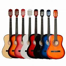 New 38 Quot 7 Color 6 Strings Plywood Classical Acoustic Folk
