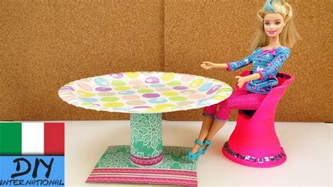 Tavola Rotonda Per Barbie