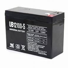 sla 12100 universal 12v 10ah sealed battery ub12100 s