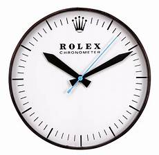 lot detail vintage 1970 rolex chronometer electric wall