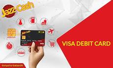 jazz cash charges jazz cash visa debit card registration order online complete guide