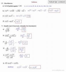 simplifying radicals with variables and exponents worksheet simplifying radicals with