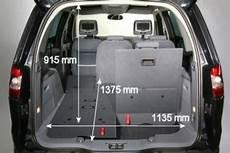 Ford Galaxy Kofferraum Maße - adac auto test ford galaxy 2 0 trend