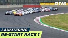 Re Start Of Race 1 Dtm Lausitzring 2018
