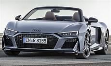 der neue audi r8 audi r8 spyder facelift 2019 motor ausstattung autozeitung de