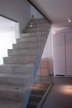 Treppe Mit Glaswand - glastreppen glasteam gmbh