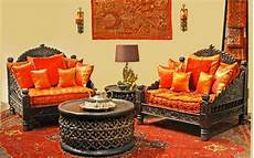 Living Room Ethnic Indian Home Decor Ideas by Traditional Indian Living Room Carved Sofas Rich