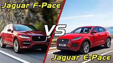 dimensions of jaguar f pace 2018 2018 jaguar e pace vs jaguar f pace