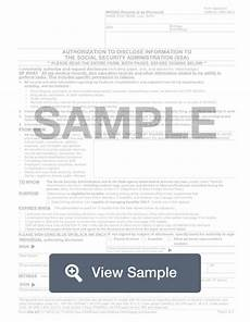 ssa 827 form form ssa 827 medical release create print for free