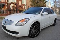 2007 nissan altima 2 5 s white on black for sale