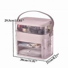 Bakeey Dressing Desktop Large Capacity Drawer by Transparent Dressing Box Desktop Cosmetic Organizer Large