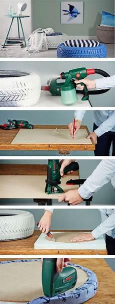 Do It Yourself Möbel Ideen - do it yourself verwandle einen alten reifen in ein