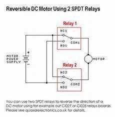 reversing relay diagram wiring schematic diagram dc motor reversing circuit timer or remote control quasar electronics