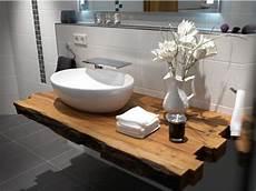waschtische aus holz waschtisch holzbalken badezimmer badezimmer