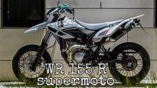 Modifikasi New Megapro Supermoto by Kumpulan Modifikasi New Yamaha Wr 155 R 2020 Supermoto