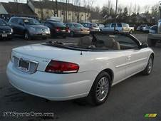 2004 Chrysler Sebring LXi Convertible In Stone White Photo