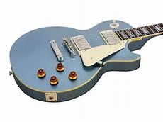 epiphone les paul pelham blue epiphone les paul standard pelham blue rainbow guitars