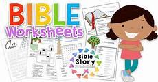 bible worksheets bible story printables