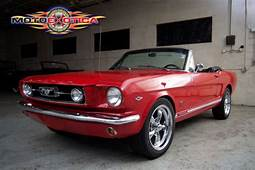 1965 Ford Mustang GT Convertible Red Exterior Black