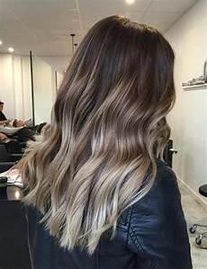 dunkle haare aufhellen ombre haarfarben hair ash