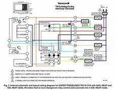 goodman heat pump thermostat wiring diagram to honeywell 5000 8 wire thermostat