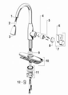 kitchen faucets replacement parts peerless kitchen faucet parts diagram automotive parts diagram images
