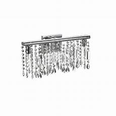 shop chrome crystal 3 light wall sconce bathroom vanity fixture free shipping today