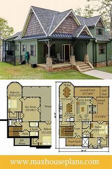 single story house plans with walkout basement small cottage plan with walkout basement lake house