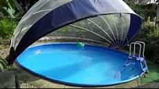Schwimmbadabdeckung Plane - poolabdeckung 5 m rund