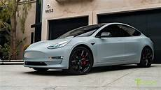 tesla model 3 gray chrome model 3 in satin battleship gray with chrome delete