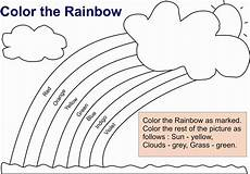 colors of the rainbow worksheets 12805 rainbow coloring pages for