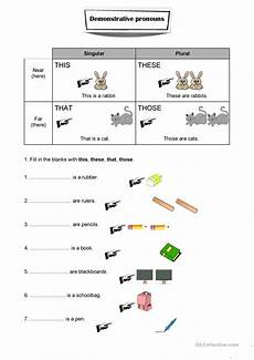 grammar worksheets this that these those 24996 demonstrative pronouns worksheet worksheet free esl printable worksheets made by teachers