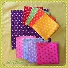 mouchoirs en tissu mouchoirs en tissu vert de pomme cr 233 ations couture