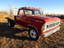 70 Ford F 350 Single Cab Flatbed Dually Truck For Sale