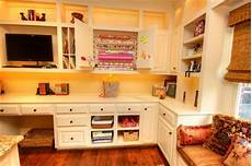 craft room traditional home office dallas by