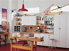 garage workbench ideas garage and shed eclectic with built