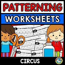 weather patterns worksheets 292 repeating patterns worksheets circus theme math activity kindergarten pattern worksheet
