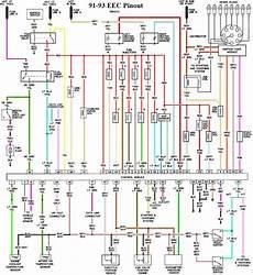 92 mustang wiring diagram eec module feed and eec solenoids location on 92 5 0 mustang forums at stangnet