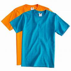 custom fruit of the loom 100 cotton t shirt design