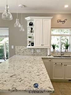 kitchen update tce 3001 quartz pashmina paint colour oak cabinets cathedral arched top