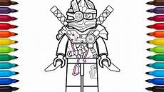 Lego Ninjago Skelett Ausmalbilder How To Draw Lego Ninjago General Cryptor From Lego Ninjago