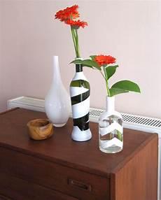 flaschenle selber machen dekorative flaschenvasen selbermachen teil 2 diy