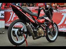 Satria Fu Modif Road Race by Motor Trend Modifikasi Modifikasi Motor Suzuki