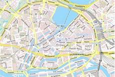 Hamburg Sehenswürdigkeiten Karte - sehensw 252 rdigkeiten karte hamburg kleve landkarte