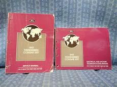 how make cars 1997 mercury cougar user handbook pin on manuals literature