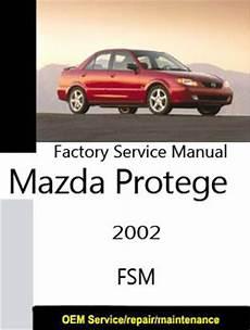 2002 mazda protege factory service repair manual download manuals mazda factory service repair manuals