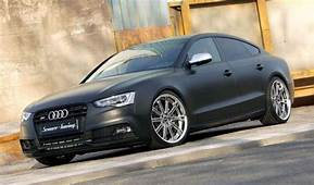 Audi Tuning Matte Black AUDI S5 SPORTBACK Tuned By SENNER